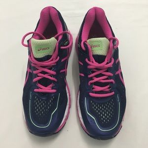 Asics Womens Sz 8 Gel Kayano 22 Running Shoes
